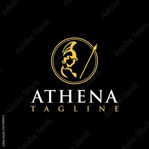 Athena luxury logo inspiration Wallpaper Mural