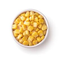 Sweet Canned Corn In Ceramic B...