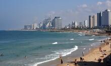 Skyline Of Tel Aviv With City ...