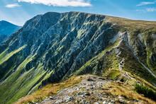 Tourist Path In Western Tatras...