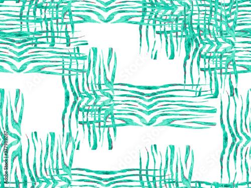 Watercolor Seamless Pattern. Canvas Print