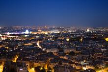 Paris Vue De Nuit Depuis La To...