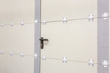 Reinforced Steel Door In An In...