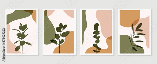 Fototapeta Abstract Geometric shapes vector collection
