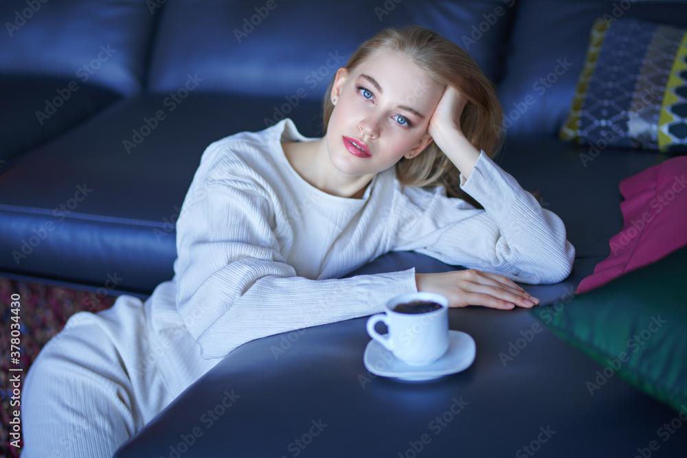 Fototapeta cozy and comfort at home