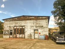 Abandoned Gas Station In Eastern Oregon