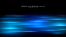青い光の抽象背景