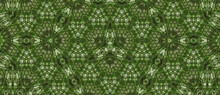 Background With Green Patterns