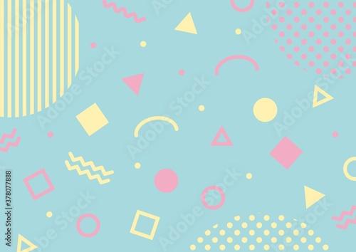 幾何学模様のポップな背景 Buy This Stock Vector And Explore Similar Vectors At Adobe Stock Adobe Stock