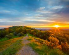 Malvern Hills Sunrise