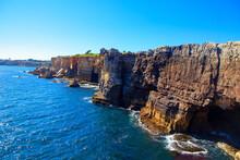 Scenery Of Oceanfront Cliffs B...