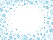 White Snowy Blizzard 4x3 Frame...