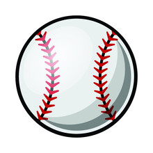 Baseball Ball Vector Illustrat...