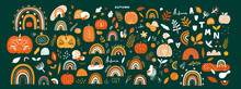 Vector Collection With Autumn ...