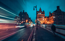 Streets Of Edinburgh, Scotland...