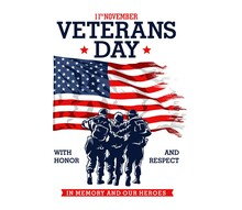 Veterans Day Grahic Illustration