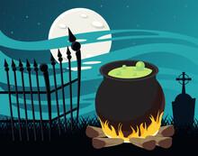 Happy Halloween Celebration Ca...