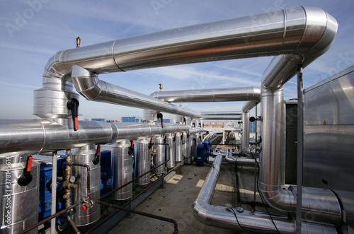 Photo Instalacion Conductos aire acondicionado industrial