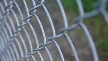 Chain Link Fence Closeup
