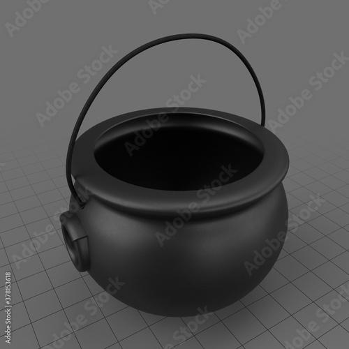 Fototapeta Cauldron candy bucket obraz