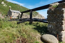 The Old Capstan At Penberth, O...