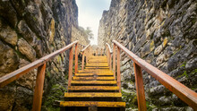Entrance Stairway To Kuelap Fo...