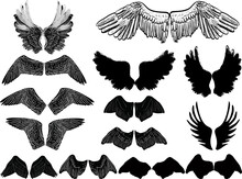 Fourteen Black Wings Couples I...