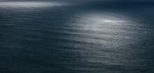 View Of Dappled Sunlight On Oc...