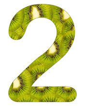 Number Two On With Kiwi Fruit ...