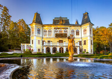 Castle Betliar Near Roznava, S...