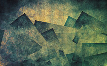 Abstract Mountains Against A G...
