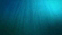 Underwater Sun Light Beams Shi...