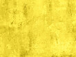 Leinwanddruck Bild - Saturated yellow colored low contrast Concrete textured background with roughness and irregularities. 2021 color trend.