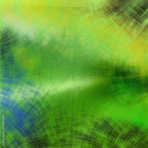 Naklejka premium Abstract Geometrical Background from thin digital fibre. Pattern With Optical Illusion.