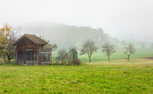 Rural Scenery With Implement S...