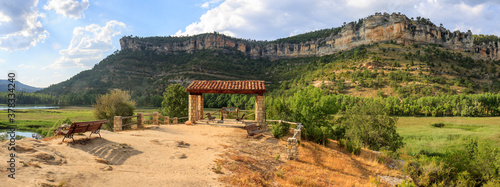 Viewpoint of Serrania de Cuenca natural park, near the lake of Uña, in the province of Cuenca, Spain;