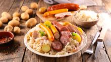 Sauerkraut-cabbage, Potato And...