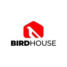 Bird House Logo Template Design