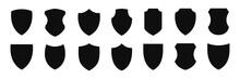 Shield Icon Vector Set Illustration