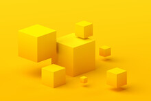 Abstract 3d Render, Geometric ...