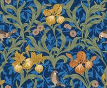 Vintage Floral Seamless Patter...