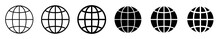 Welt Globus Icon