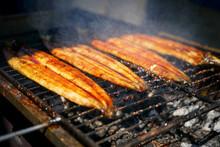 鰻の蒲焼(炭火焼)