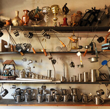 Tinware Objects In The Worksho...