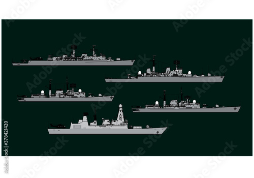 Royal Navy Fototapeta