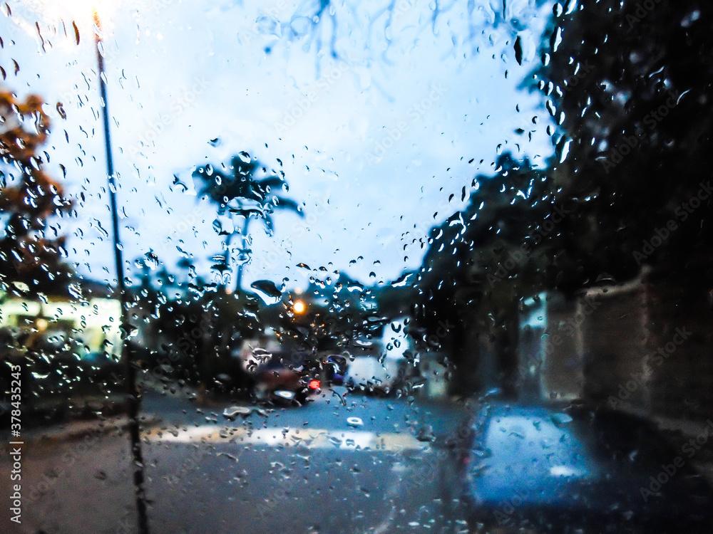 Fototapeta lluvia