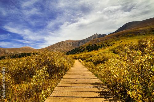 Fényképezés Mount Bierstadt on Guanella Pass Autumn in Colorado