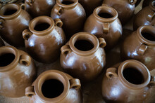 Pottery Produced In Kasongan. Kasongan Village Has Many Earthenware / Pottery Maker. Working Collectively, A Gallery Is Usually A Family Business Run From Generation.
