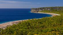 The Coastline Of The Island Ma...