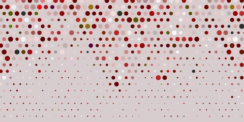 Fototapeta Wzory geometryczne Light red vector background with bubbles.